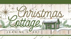 Overzicht van Jeanines art Christmas Cottage